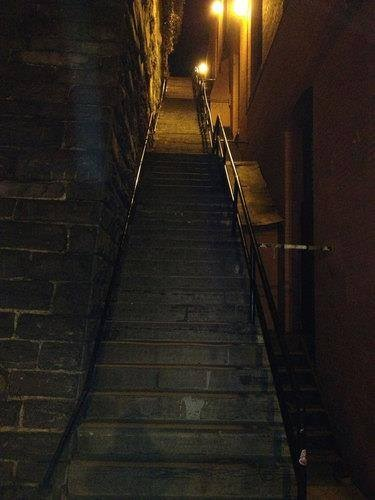 The Exorcist Steps in Georgetown DC, Used to hang there back in 1987-1989