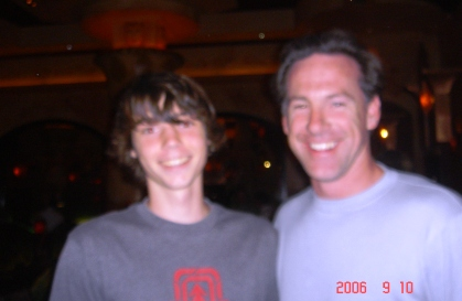 Nathan with Jamie Dixon,Head Basketball coach at Pitt