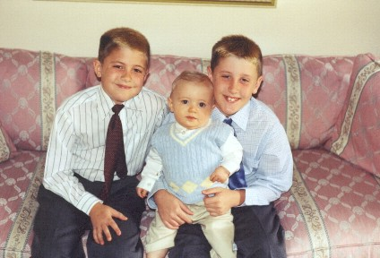 William, James and Jay