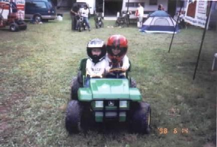 4 Wheeling Adam and Luke