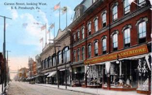 Carson Street 1913