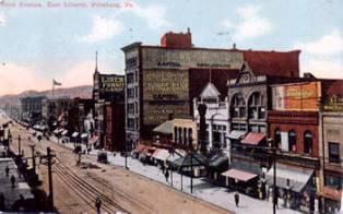 Pennsylvania Avenue East Liberty 1912